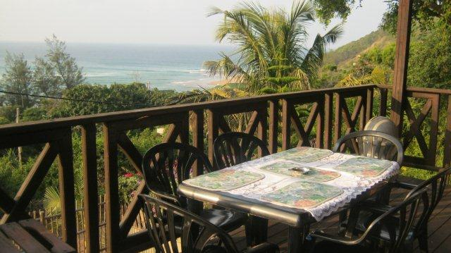 Wooden Deck Sea Views